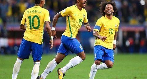 Brazílie musí být jedním z mistrů světového poháru v roce 2018
