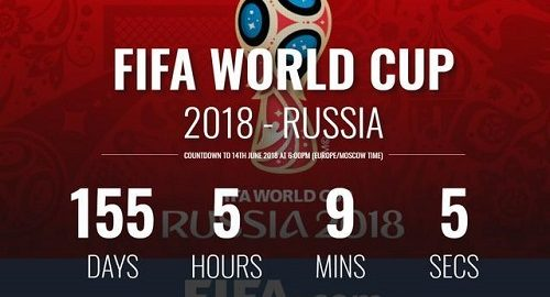 Budou ještě v roce 2018 v Mistrovství světa v Rusku